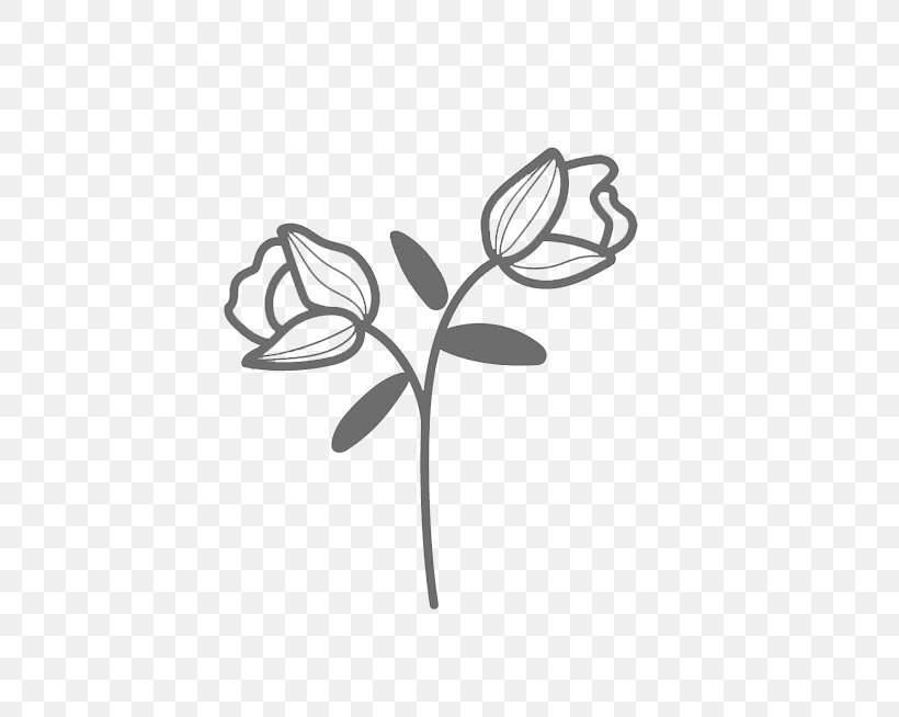 Leaf Flower Plant Branch Black-and-white, PNG, 493x654px, Leaf, Blackandwhite, Branch, Flower, Plant Download Free