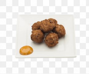 Meat Ball - Meatball Vegetarian Cuisine Food Chicken Nugget Fritter PNG