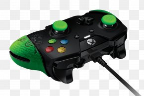 Razer Gamepad Transparent - Xbox One Controller Xbox 360 Controller Game Controller Video Game Console PNG
