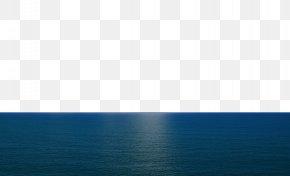 Sea - Blue Sky Sea Wallpaper PNG