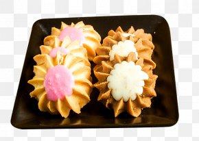 Fancy Cream Cookies - Cream Birthday Cake Petit Four Dessert Crisp PNG