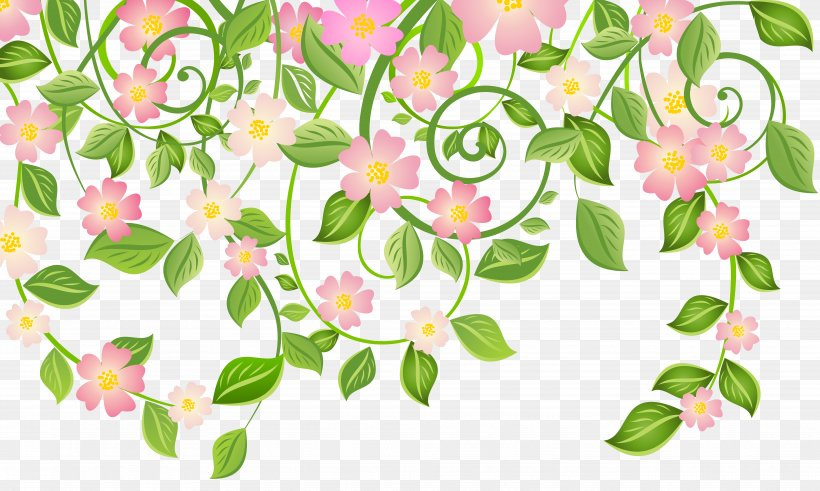 Spring Blossom Clip Art, PNG, 8123x4873px, Spring, Blossom, Branch, Clip Art, Cut Flowers Download Free