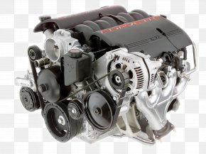 Car - General Motors Car Chevrolet Corvette LS Based GM Small-block Engine PNG