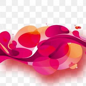 Valentine's Day Background - Valentines Day Red PNG