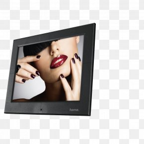Digital Photo Frame - Digital Photo Frame Picture Frames Digital Photography Hama 121SLB Slim Basic Acryl 30,73cm (12,1 ) Vesa Hardware/Electronic Digital Data PNG