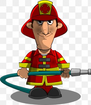 Fireman - Firefighter Fire Engine Free Content Clip Art PNG