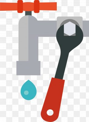 Repair The Water Pipe - Tap Wrench Maintenance Pipe PNG