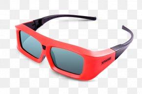 Glasses - XpanD 3D 3D Film 3D-Brille Cinema Polarized 3D System PNG