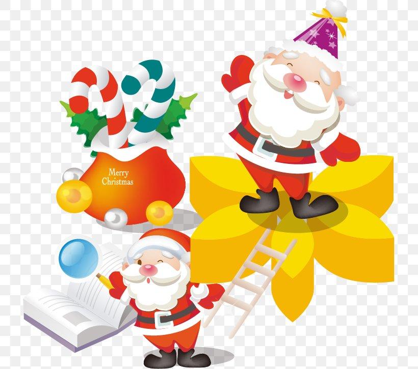 Santa Claus Christmas Gift Christmas Gift, PNG, 729x725px, Santa Claus, Bag, Christmas, Christmas Decoration, Christmas Gift Download Free