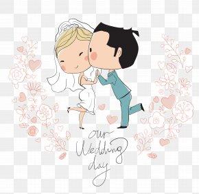 Wedding Cartoon Characters - Wedding Invitation Bridegroom Illustration PNG