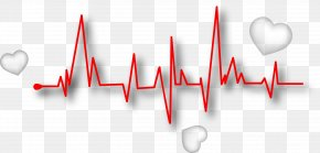 Decorate Heart Rate - Line Euclidean Vector Heart Rate Pulse PNG
