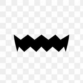 Moustache - Black & White Moustache Wario Font PNG