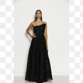 Dress - Little Black Dress Ball Gown Formal Wear PNG