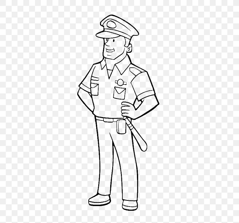 - Drawing Police Officer Coloring Book Clip Art, PNG, 600x764px, Drawing,  Area, Arm, Badge, Black Download Free