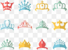 Hand-painted Colorful Crown Crown - Crown Of Queen Elizabeth The Queen Mother Monarch PNG