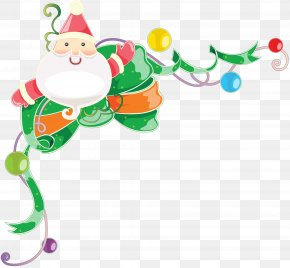 Merry Christmas - Christmas Picture Frames Santa Claus Clip Art PNG