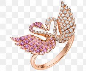 Swarovski Jewelry Color Swan Ring - Cygnini Yaxiya Jewelry Ring Swarovski AG Jewellery PNG
