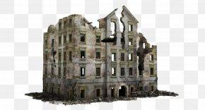 Building - Building Ruins 3D Modeling 3D Computer Graphics PNG