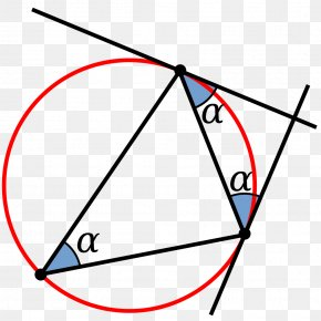 Circle Angle - Circumscribed Circle Angle Geometry Point PNG