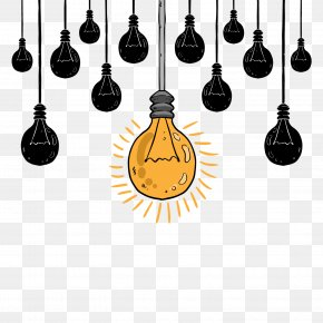 Vector Decorative Bulb - Email Creativity Signature Block Idea Web Hosting Service PNG