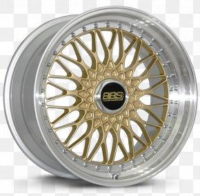 Wheel Rim - BBS Kraftfahrzeugtechnik Car Alloy Wheel Rim PNG