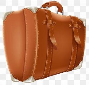 Transparent Brown Suitcase Clipart Picture - Suitcase Baggage Clip Art PNG