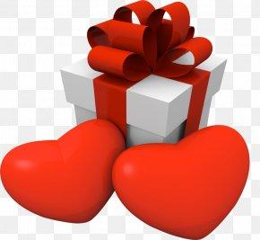 Valentine's Day - Valentine's Day Gift Heart Love PNG