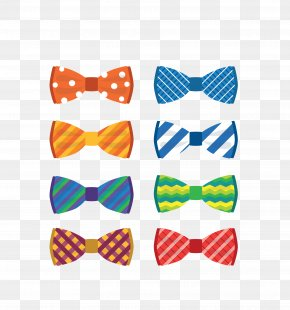Vector Color Bow Tie Bow - Bow Tie Stock Photography Necktie Clip Art PNG