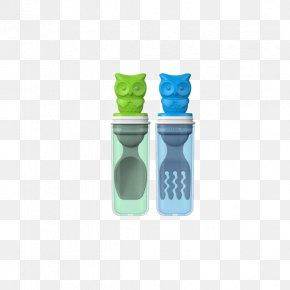 Edison Green + Blue Children Stainless Steel Tableware Spoon Fork Suit. - Spork Fork Spoon Tableware PNG