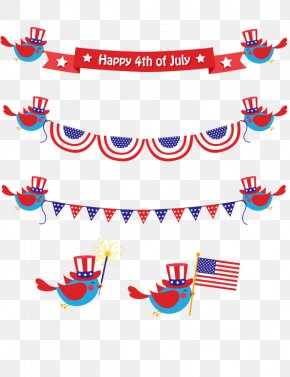 Pull Color Flag - United States Independence Day Flag Clip Art PNG