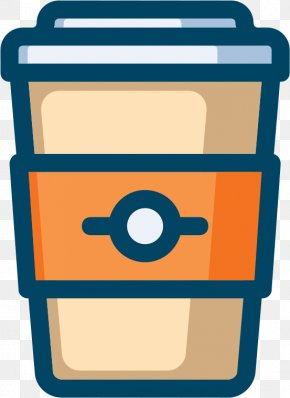 Coffee To Go - Coffee Cup Clip Art Latte Vector Graphics PNG