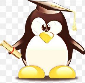 Penguin Graduation Ceremony Graduate University Clip Art School PNG