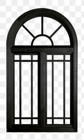 Doors And Windows Painted Black - Window Wood Chambranle Picture Frame Manufacturing PNG