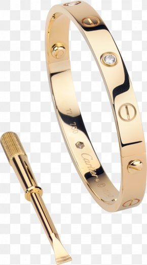 Ring - Bangle Ring Love Bracelet Cartier Jewellery PNG