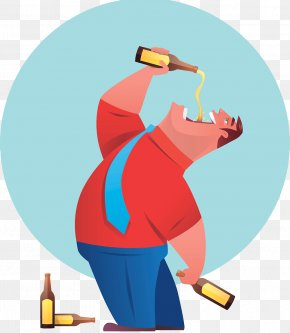 Drinking Illustrator - Beer Distilled Beverage Drinking PNG