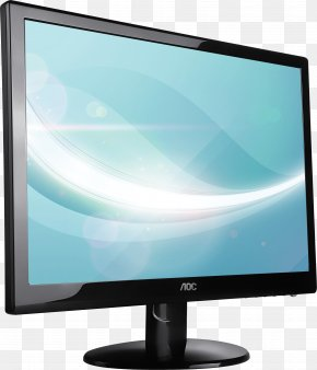 Monitor Image - Computer Monitor AOC International IPS Panel LED-backlit LCD Response Time PNG