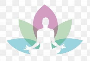 Orchids Refer To Meditation - Sahaja Yoga Logo Meditation PNG