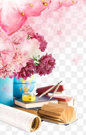 Teacher's Day Decoration Material - Teachers' Day World Teacher's Day Flower Student PNG