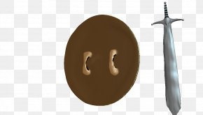 Sword And Shield - Weapon Sword Brown PNG