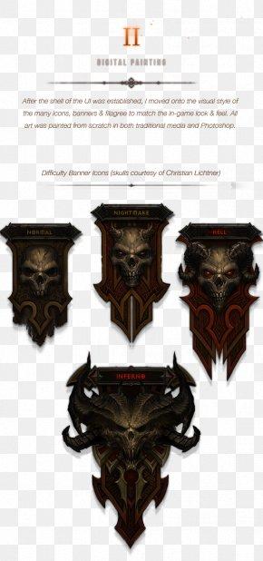 Ui Game - Diablo III: Book Of Cain Diablo III: Book Of Tyrael Design PNG