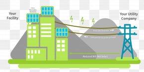 Energy - Solar Power Rooftop Photovoltaic Power Station Solar Energy Solar Panels Renewable Energy PNG