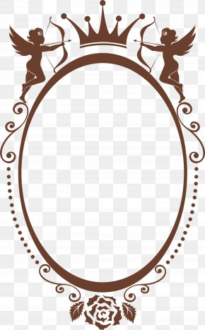 Coffee Crown Frame - Valentine's Day Qixi Festival Icon PNG