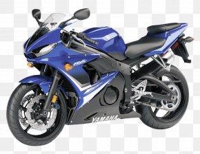 Yamaha R6S Motorcycle Bike - Yamaha YZF-R1 Yamaha Motor Company Yamaha YZF-R6 Motorcycle Sport Bike PNG