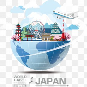 Decorative Building Japan Attractions - Japan Royalty-free Travel Stock Illustration PNG