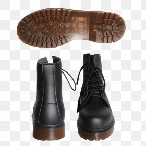 Leather Boots - Snow Boot Shoe PNG
