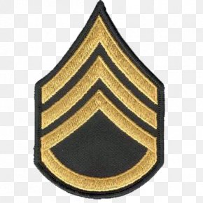 Military - Staff Sergeant Military Rank United States Army Enlisted Rank Insignia PNG