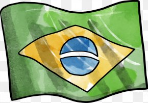 Flag Of Brazil - Flag Of Brazil 2016 Summer Olympics Coin Download PNG
