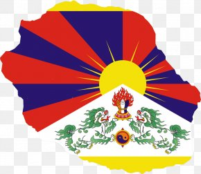 Plundering Tibet - Flag Of Tibet Free Tibet Tibetan Independence Movement Incorporation Of Tibet Into The People's Republic Of China PNG