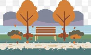 Autumn Park - Park Icon PNG