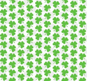 Large Transparent Shamrocks For Wallpaper Clipart - Shamrock Clip Art PNG